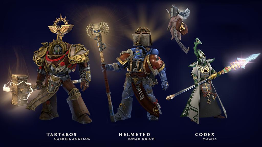 Ranks In Marine >> Steam Community :: Warhammer 40,000: Dawn of War III
