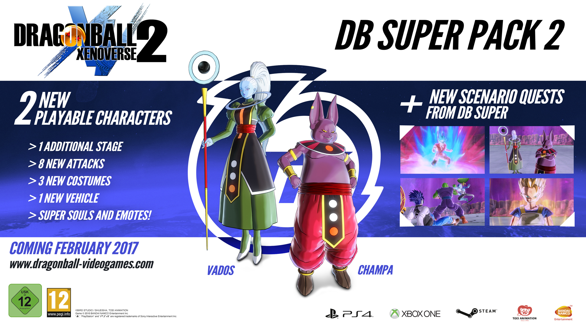 DRAGON BALL XENOVERSE 2 - Extra DLC Pack 3 on Steam