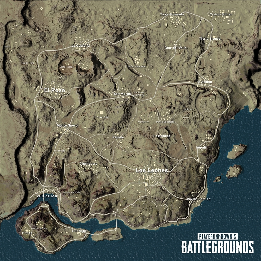Map Miramar