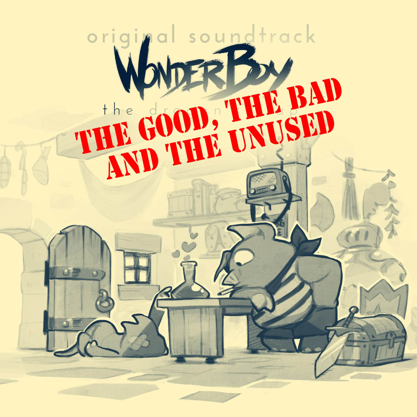 Game boy color quanto vale - Wonder Boy The Dragon S Trap Bonus Disc The Good The Bad And The Unused