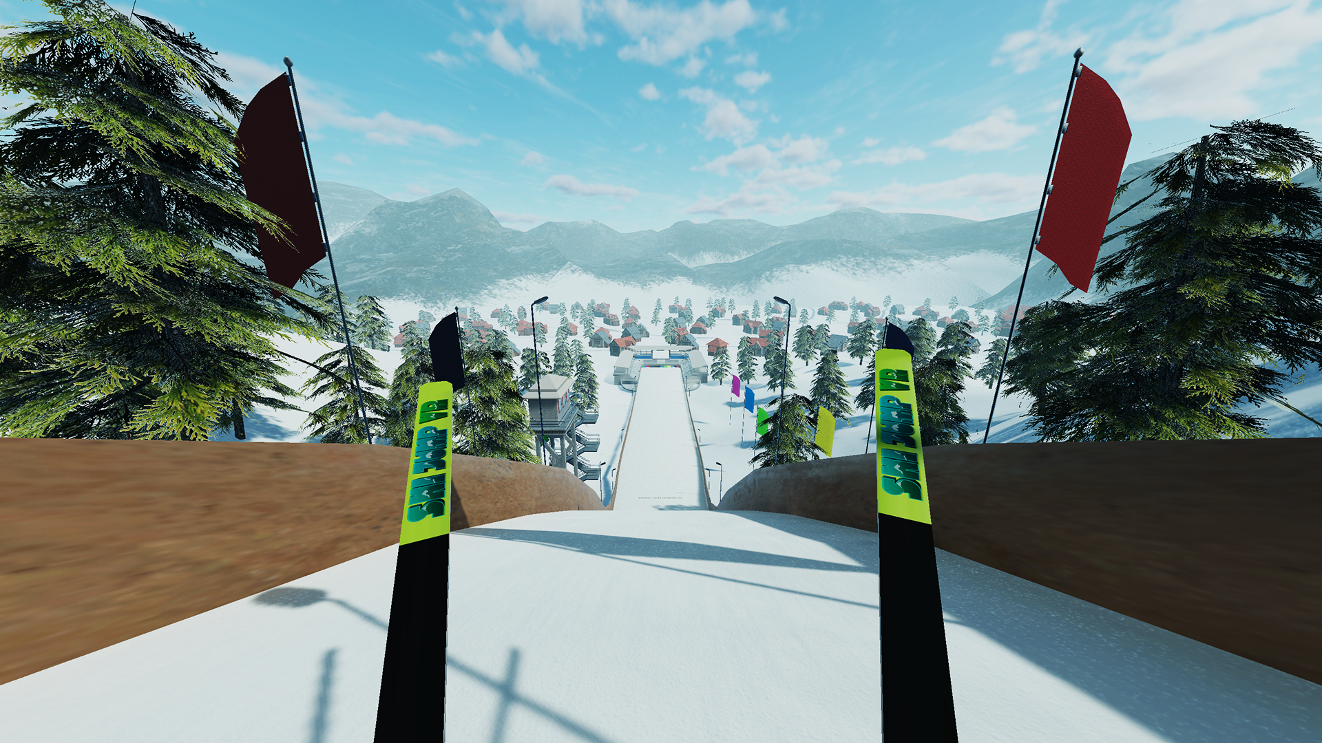 The Amazing ski jumping vr with regard to Your home