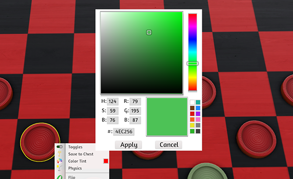 08/12/2016 – Update v7.9 Color Picker, Pickup Assist, and Sound Improvements!