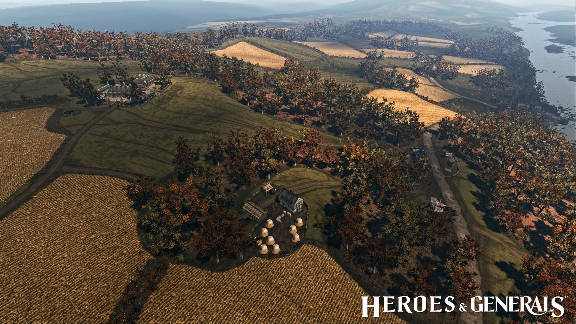 heroes and generals maps