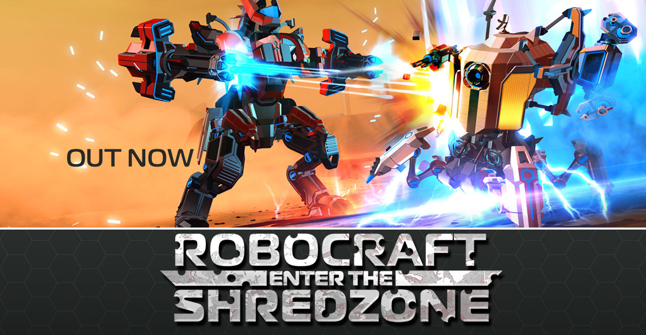 Robocraft :: ENTER THE SHREDZONE - 0.13.1646