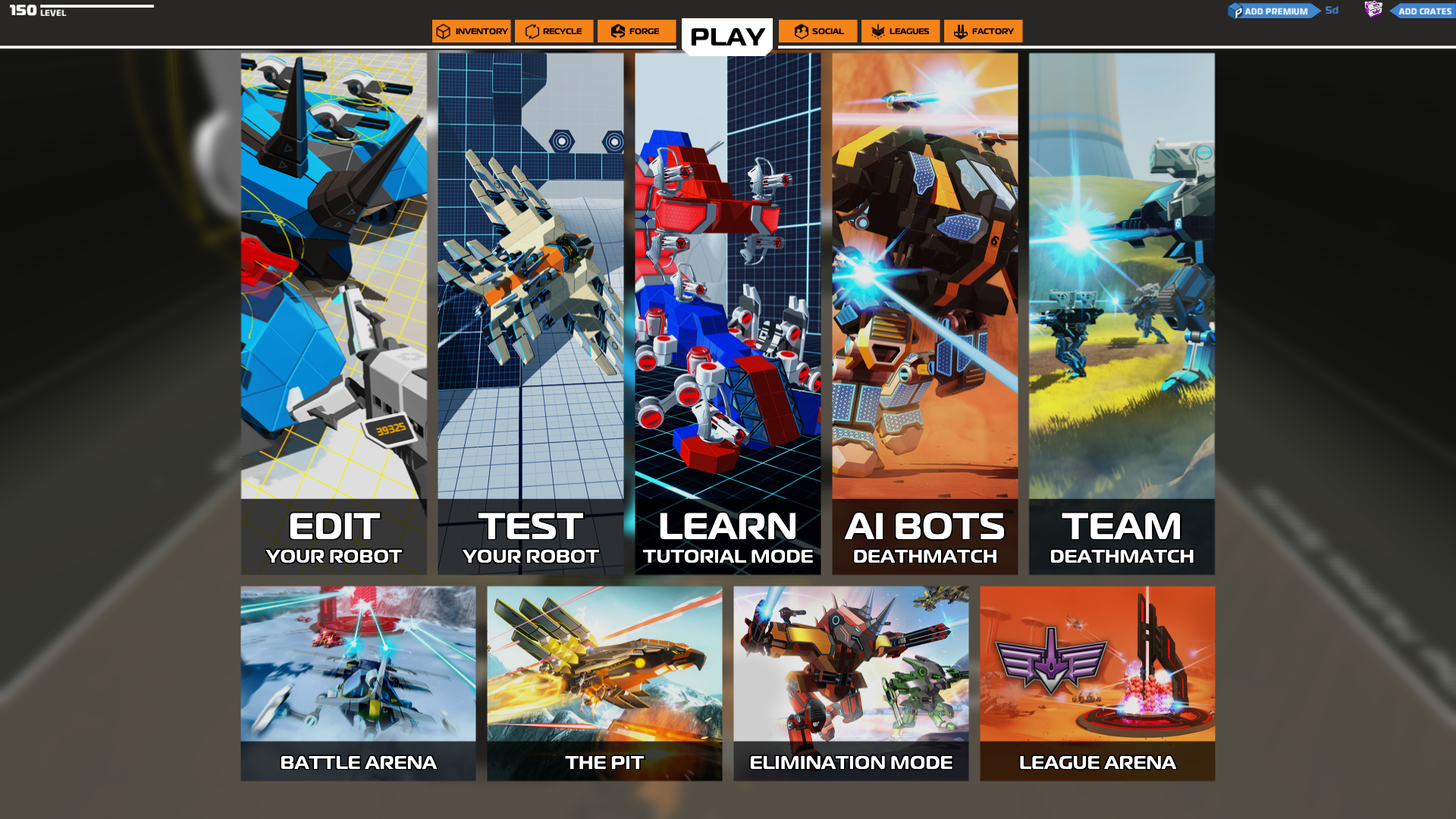 Robocraft :: Single Player Changes and Improved AI Coming ...