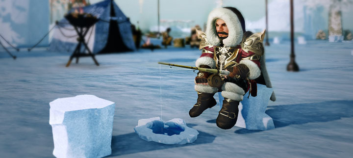 Ice fishing for fun and profit for Ice fishing expo