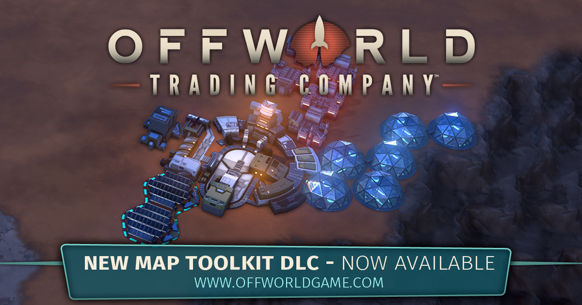 Offworld Trading Company :: Offworld Trading Co. - New Map Toolkit on