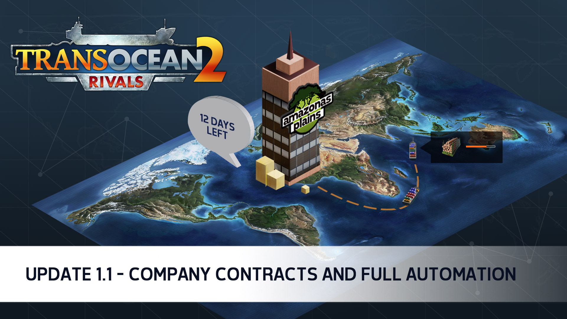 TransOcean 2: Rivals - Update 1.2 available
