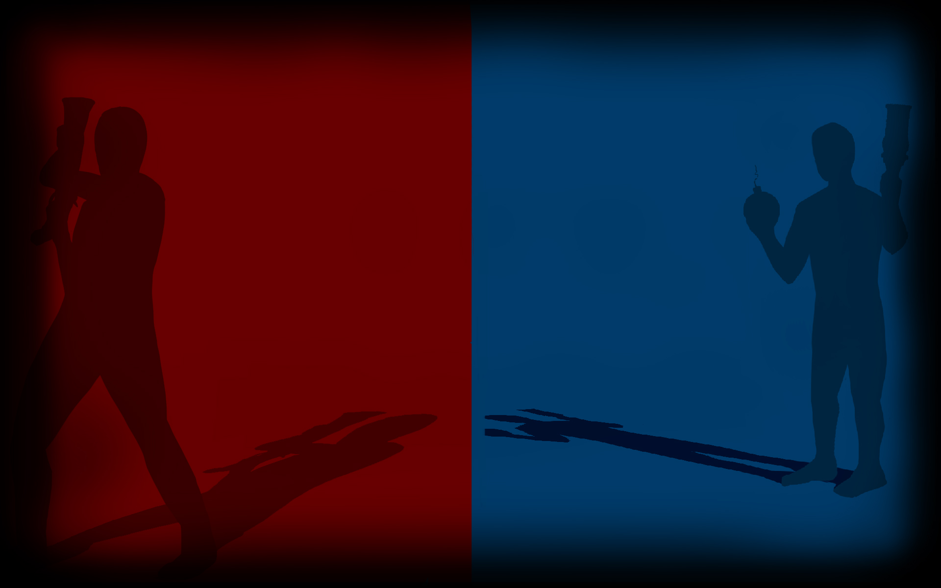 blue vs red. Black Bedroom Furniture Sets. Home Design Ideas