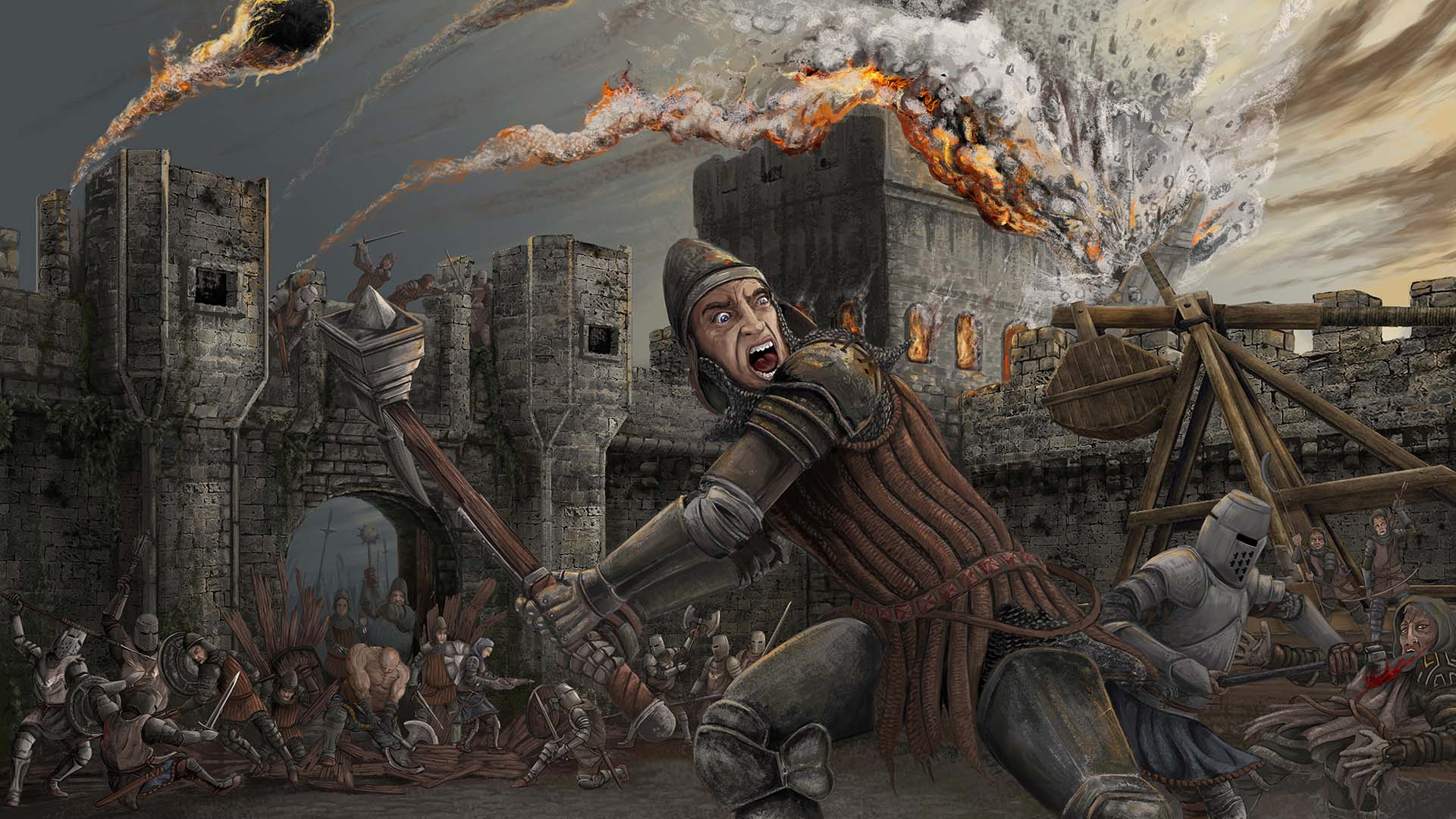 mount and blade warband how to stop a siege