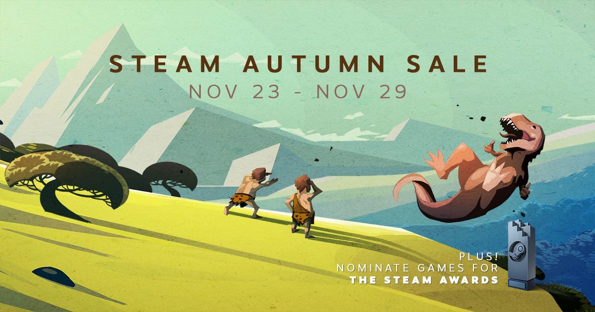 [STEAM]STEAM Autumn Sale Nov 23-29