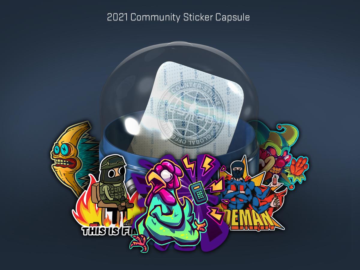 Новата CS:GO капсула с обществени стикери за 2021