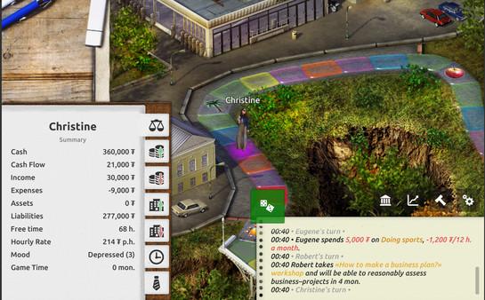 Скриншот №10 к Timeflow – Time  Money Sim