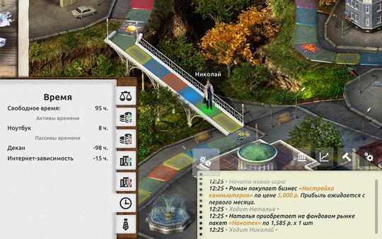 Скриншот №4 к Timeflow – Time  Money Sim