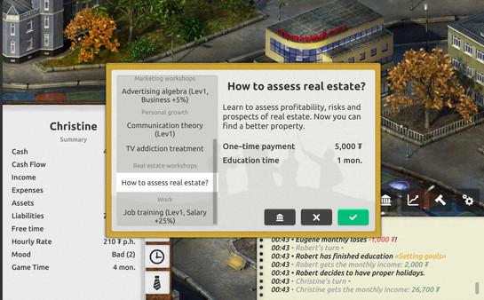 Скриншот №8 к Timeflow – Time  Money Sim