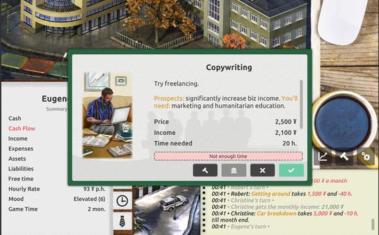 Скриншот №6 к Timeflow – Time  Money Sim