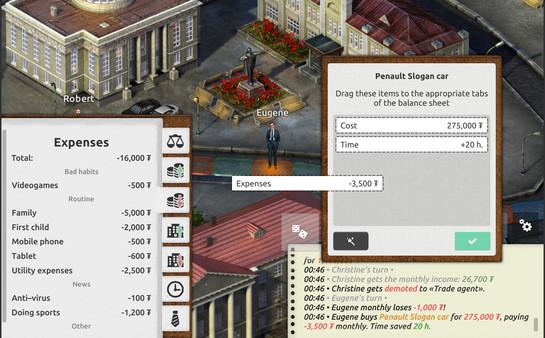 Скриншот №9 к Timeflow – Time  Money Sim