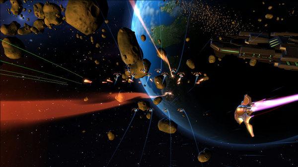 скриншот Aces of the Galaxy 1