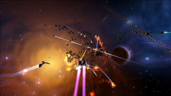 скриншот Aces of the Galaxy 3