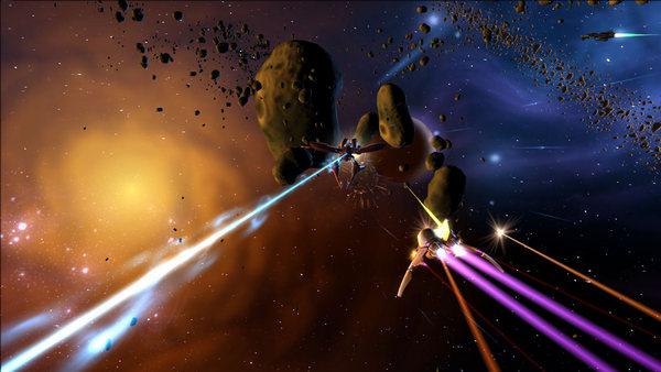 скриншот Aces of the Galaxy 2