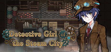 Detective Girl of the Steam City Cover Image