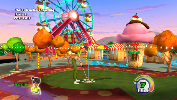 3D Ultra Minigolf Adventures Deluxe screenshot