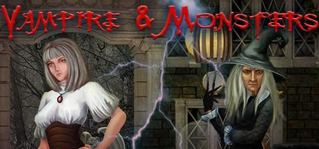 Vampire & Monsters: Hidden Object Games