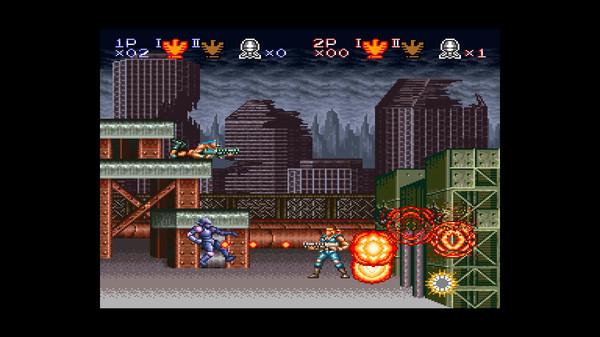 Скриншот №3 к Contra Anniversary Collection
