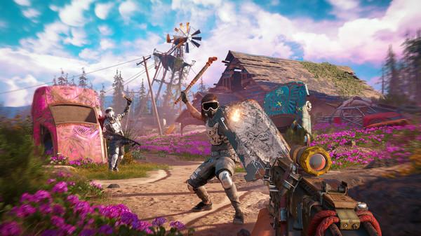 Скриншот №8 к Far Cry® New Dawn - Retro Weapon Pack
