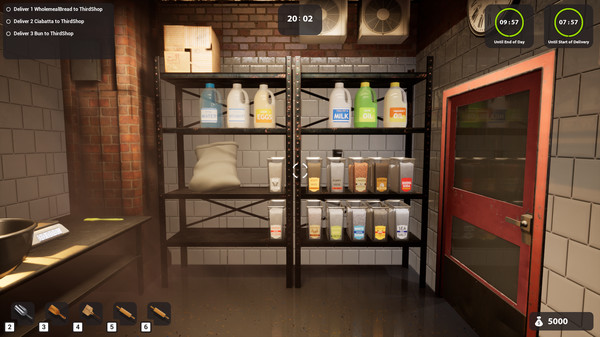 Скриншот №6 к Bakery Simulator
