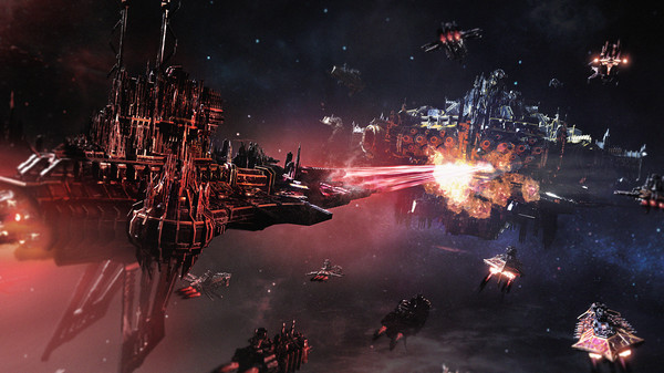 Скриншот №1 к Battlefleet Gothic Armada 2 - Chaos Campaign Expansion