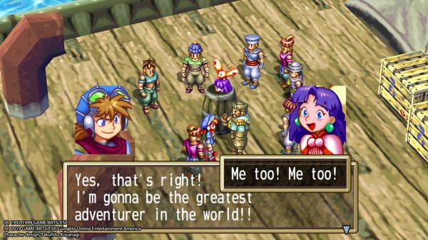 Скриншот №1 к GRANDIA HD Remaster