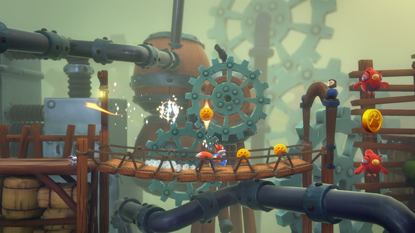 Скриншот №2 к New Super Luckys Tale