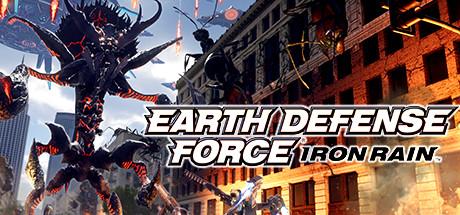 EARTH DEFENSE FORCE: IRON RAIN Cover Image