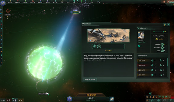 Скриншот №5 к Stellaris Ancient Relics Story Pack