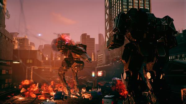 Скриншот №4 к BATTLETECH Urban Warfare