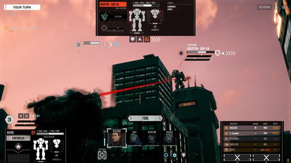 Скриншот №7 к BATTLETECH Urban Warfare