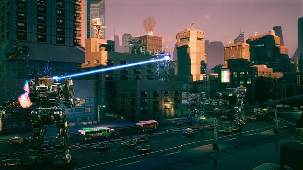 Скриншот №13 к BATTLETECH Urban Warfare