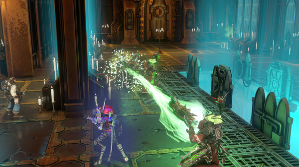 Скриншот №5 к Warhammer 40000 Mechanicus - Heretek