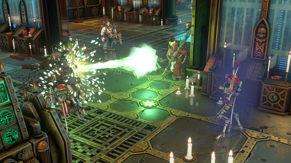 Скриншот №4 к Warhammer 40000 Mechanicus - Heretek