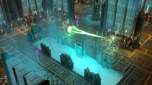 Скриншот №1 к Warhammer 40000 Mechanicus - Heretek