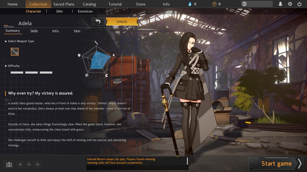 Скриншот №21 к Eternal Return Black Survival