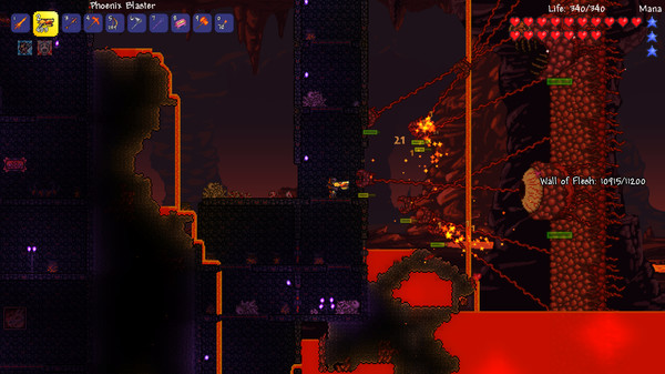 Terraria скриншот