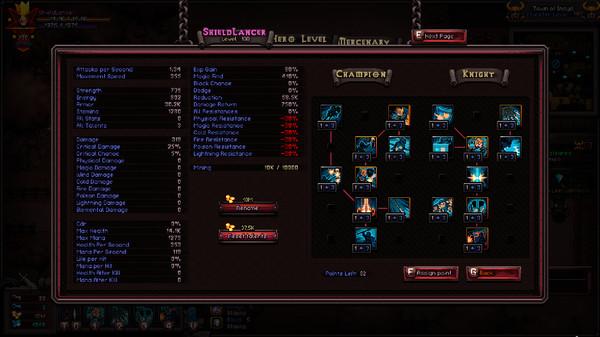 Скриншот №1 к Class - Shield Lancer