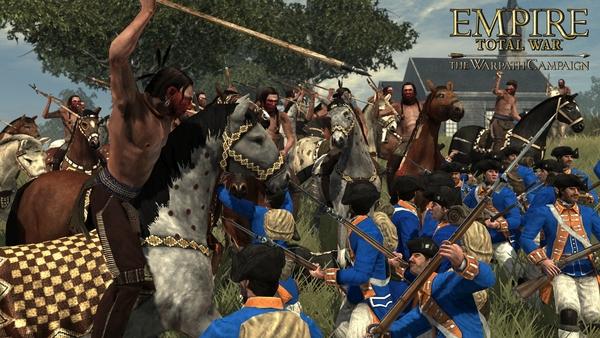 скриншот Empire: Total War - The Warpath Campaign 0