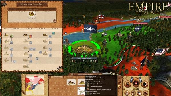 скриншот Empire: Total War - The Warpath Campaign 3