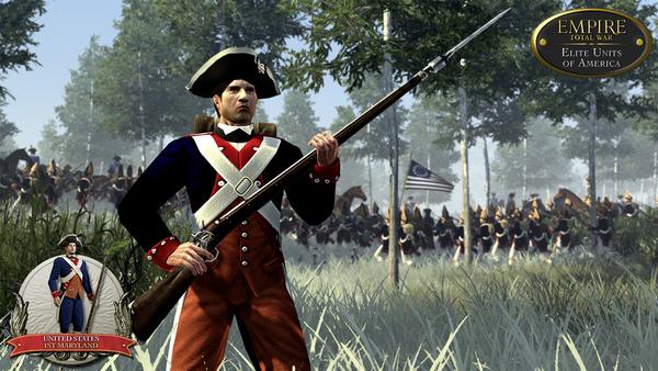 скриншот Empire: Total War - Elite Units of America 1