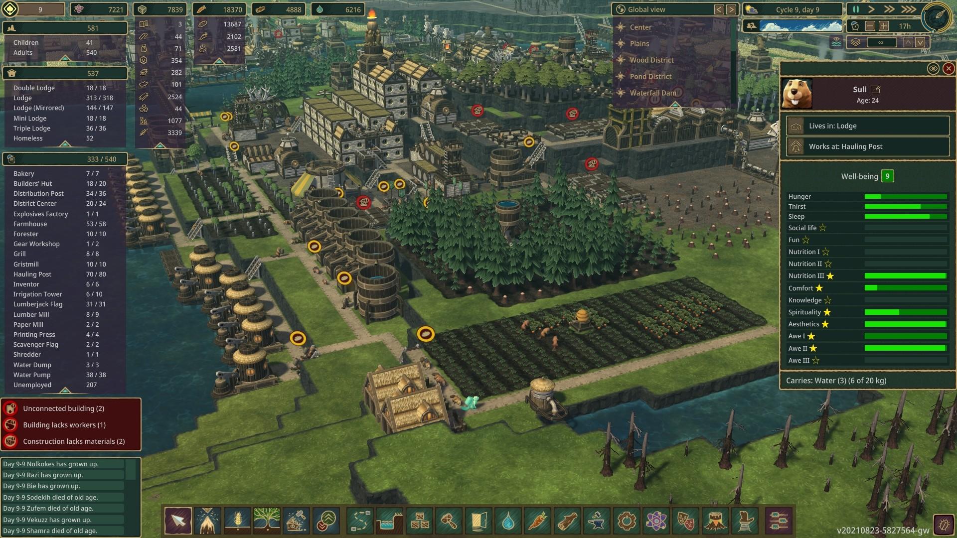 Timberborn screenshot 1