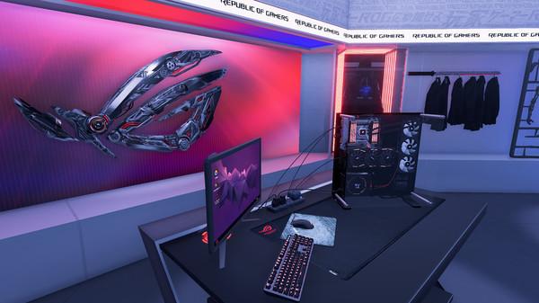 Скриншот №1 к PC Building Simulator - Republic of Gamers Workshop