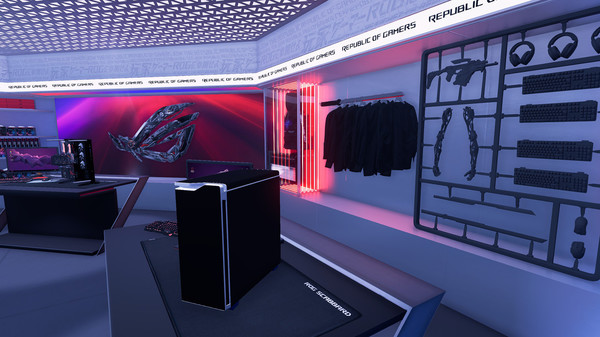 Скриншот №3 к PC Building Simulator - Republic of Gamers Workshop